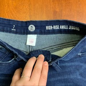 SO Jeans - high rise ankle jeggings